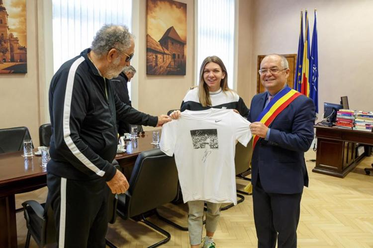 Simona Halep, cetățean de Onoare al Clujului - FOTO