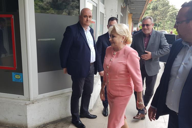 Viorica Dăncilă vine la Cluj săptămâna viitoare