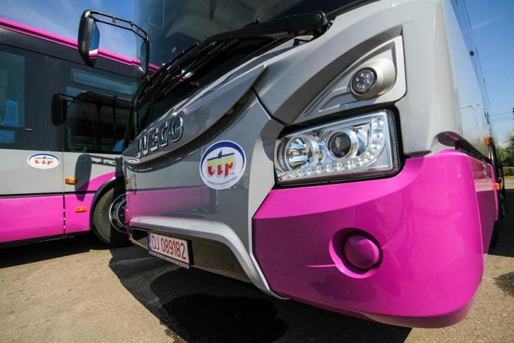 CTP CLUJ: Mai multe linii de transport în comun deviate din cauza Street Food Festival