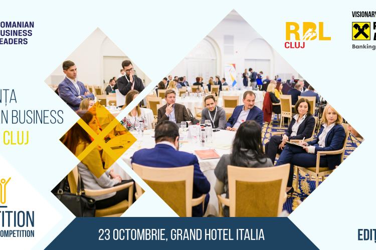 Liderii de business din Transilvania participă la conferința anuală Romanian Business Leaders (RBL) Cluj 2019