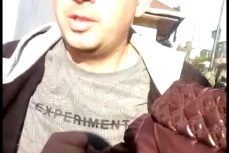 Cluj: Polițist de la Rutieră, acuzat că a bătut un clujean care îl filma / Polițistul spune că nu l-a agresat - VIDEO EXCLUSIV