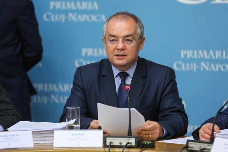 Boc nu mai vrea mașini în Cluj-Napoca. Ce propunere face