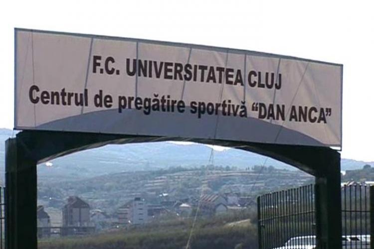 "Primaria Cluj-Napoca pune mâna pe terenul de la baza ""Dan Anca"""