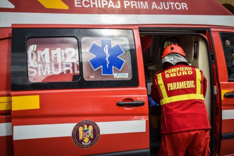 Încă un accident mortal la Cluj. O femeie a fost ucisă pe trecerea de pietoni