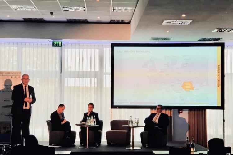 Directorul Aeroportului Internațional Cluj, invitat ca speaker la conferința Smart Airports