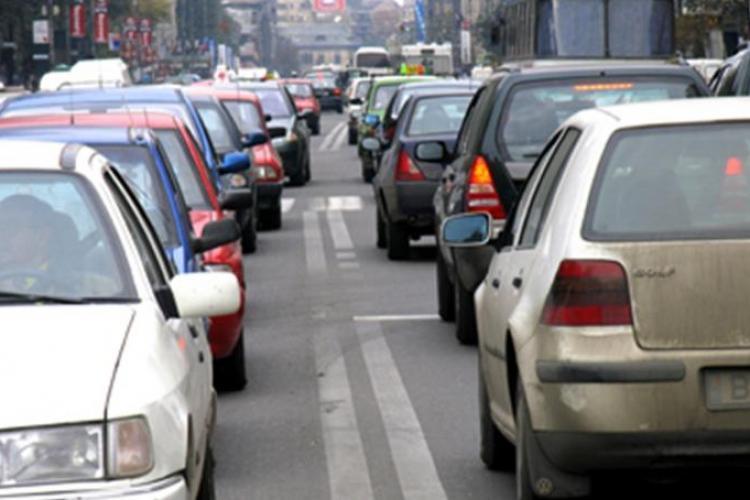 Oficial din Primăria Cluj: Traficul e infernal între 7.15 și 8.30