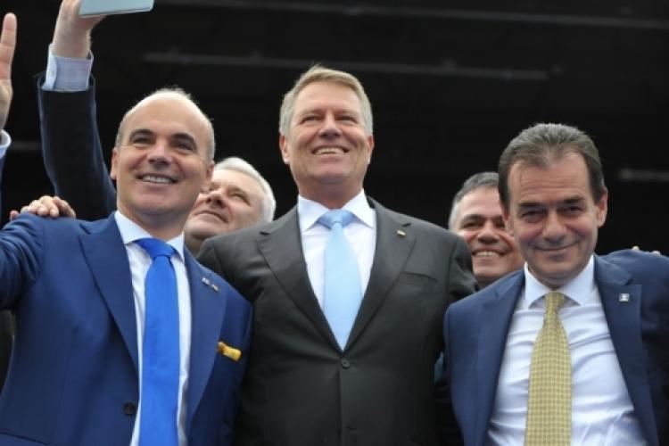 PNL 84,56 % în municipiul Cluj-Napoca și 81,20 % în județul Cluj