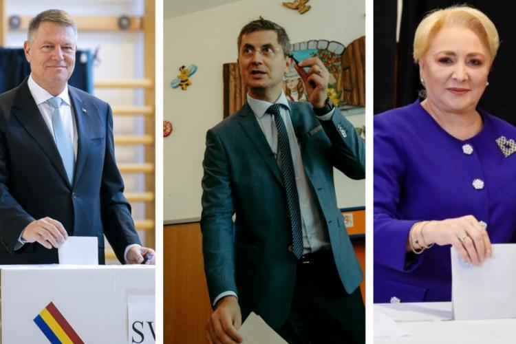 Cum au votat comunele mari din Cluj, la alegerile prezidențiale, în turul întâi. Iohannis a defilat