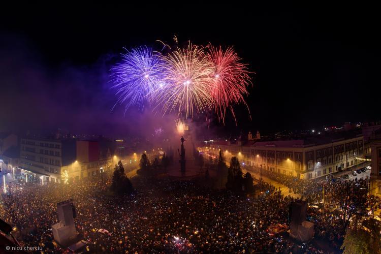 Cluj: Peste 100.000 de oameni au participat la evenimentele dedicate Zilei Naționale a României