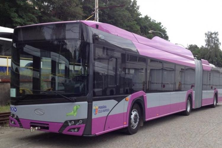 Clujul va pune în funcțiune 21 de troleibuze noi