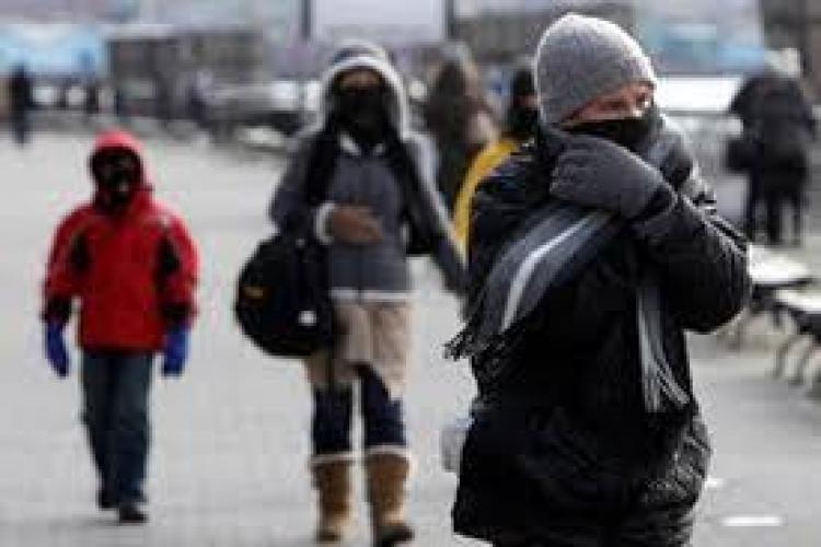 Vreme tot mai rece în weekend la Cluj! Temperaturile scad sub pragul înghețului