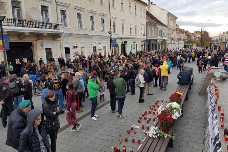 Salvați pădurile! Marș organizat la Cluj - FOTO