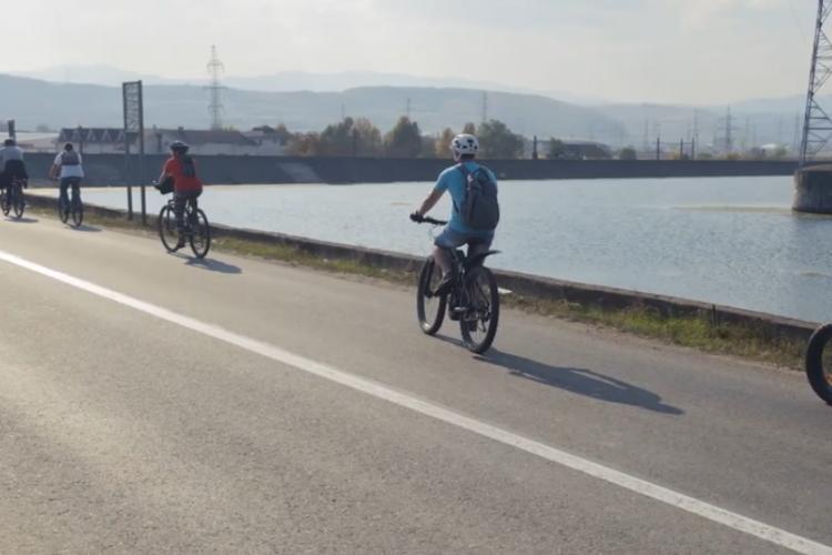 Premierul Ludovic Orban se angajează să realizeze o arteră pietonală și ciclistă între Florești și Cluj - VIDEO