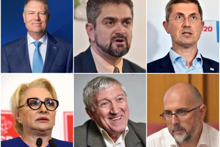 Alegeri PREZIDENȚIALE 2019 primul tur, REZULTATELE OFICIALE pe Cluj