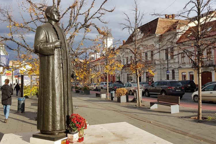 Cardinal Iuliu Hossu, vestitorul Marii Uniri, omagiat la Cluj-Napoca de Ziua Naţională a României