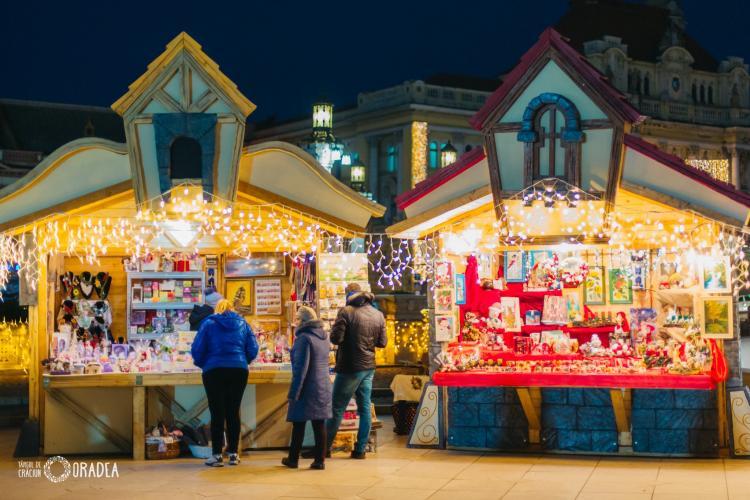 Oradea se pregătește pentru Târgul de Crăciun! Înscrie-te pentru un loc în căsuțe! Preț de la 75 lei/căsuță/zi