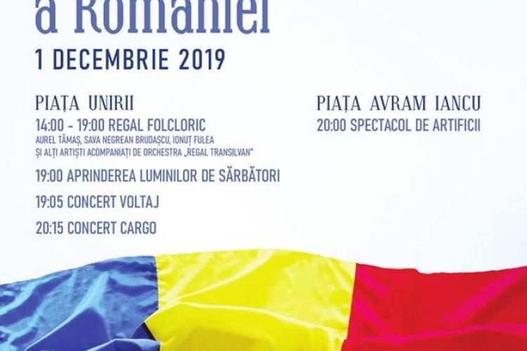 Programul complet al evenimentelor de Ziua Națională la Cluj-Napoca