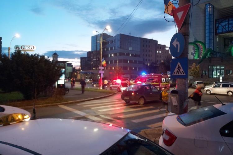 Accident la prima oră, pe Dorobanților FOTO