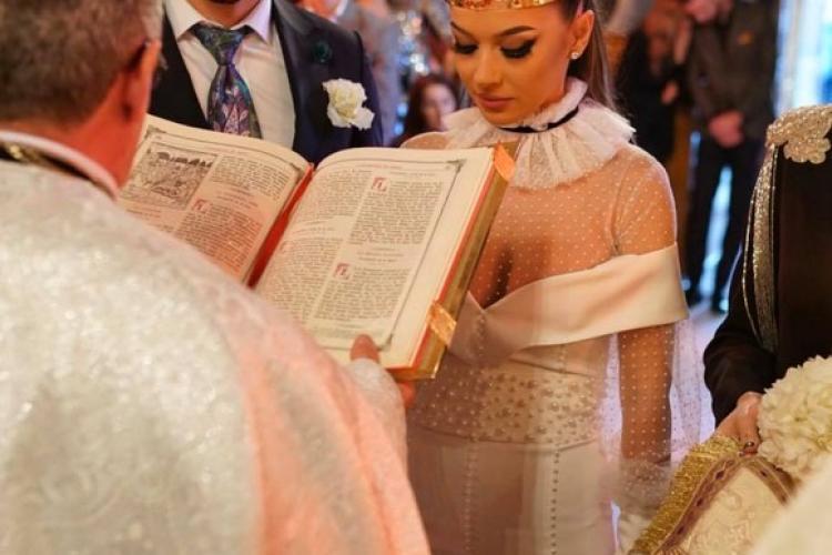 Vlăduța Lupău s-a măritat cu un fotbalist de la CFR Cluj. Nu a știut nimeni, pentru că vedeta nu a vrut - FOTO