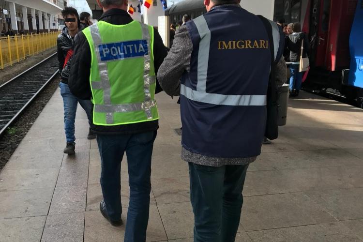 Poliția Cluj a depistat 13 cetățeni stăini în situații ilegale la Cluj! Câți au fost obligați să părăsească țara
