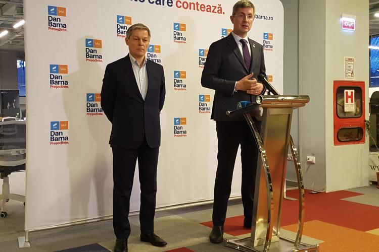 """Liderii USR-PLUS, Cioloș și Barna s-au întâlnit cu Ludovic Orban: """"PNL sau premierul nu primeşte un cec în alb"""""""
