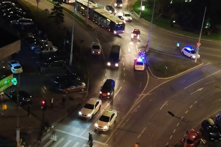 Accident între un autobuz și un autoturism, în Mărăști! Șoferul vinovat a încercat să fugă de la fața locului FOTO