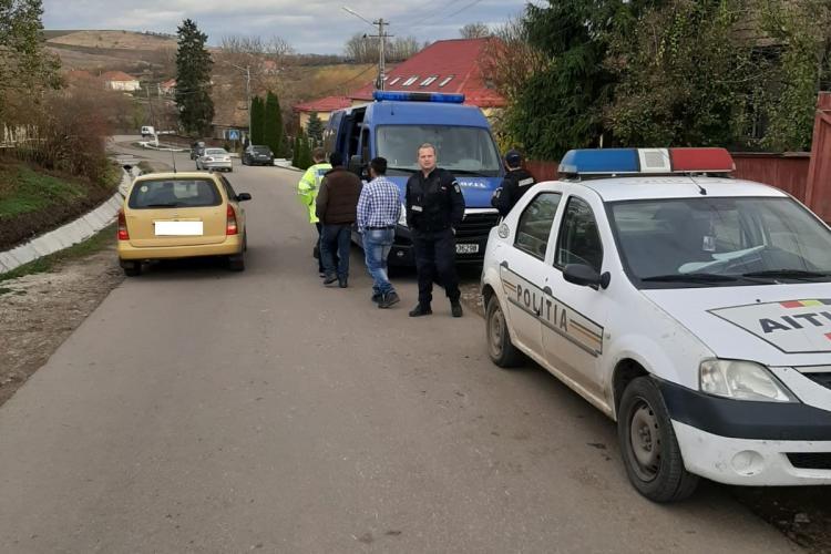 Razie de amploare într-o localitate din Cluj! Câte amenzi au dat polițiștii FOTO