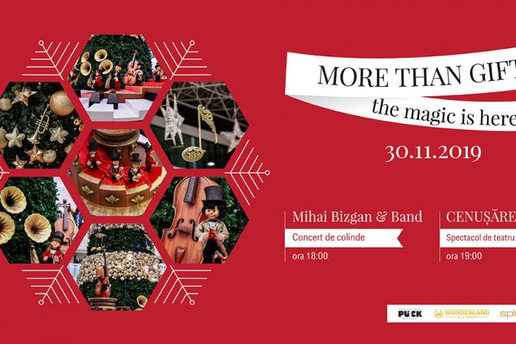 Povești de Crăciun spuse pe note muzicale, la Iulius Mall Cluj