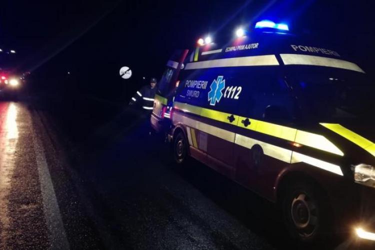 Accident în lanț în Jucu. UPDATE - Traficul s-a reluat VIDEO