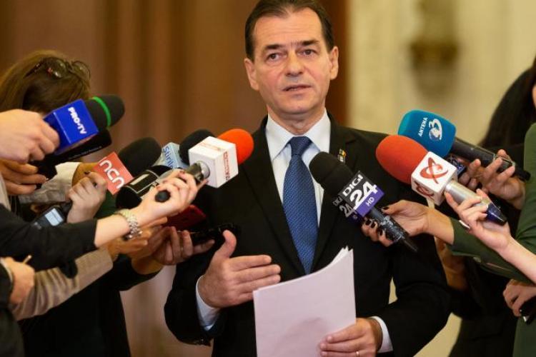 Cum au votat parlamentarii clujeni la învestirea Guvernului Orban