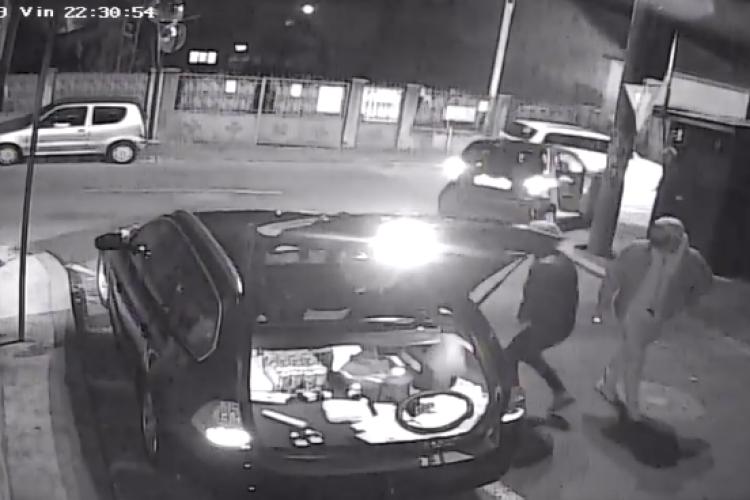 Cluj-Napoca: I-au furat geanta din mașină, în timp ce descărca lucruri. Cine recunoaște GOLANII? - VIDEO