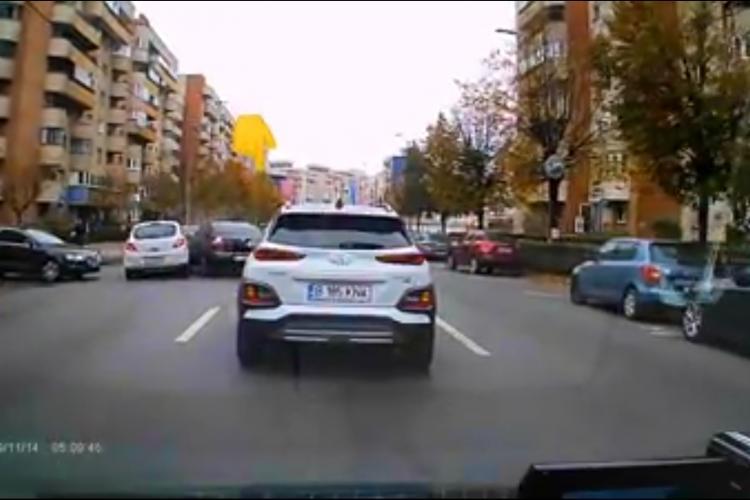 Accident pe Calea Dorobanților, surprins LIVE de un șofer cu camera pe bord - VIDEO