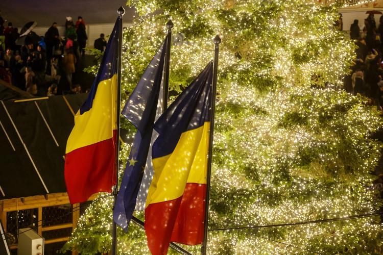 Artificii la Cluj de Ziua Națională a României. La ce oră să fiți în Piața Unirii