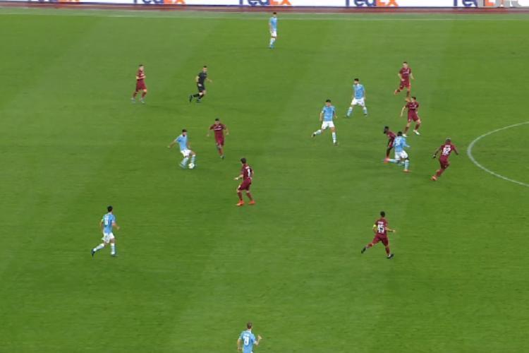 Lazio - CFR Cluj 1-0. Dan Petrescu crede că a pierdut nemeritat - REZUMAT VIDEO și declarații