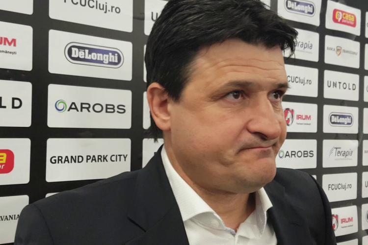 Falub lansează un avertisment înainte de U Cluj - ASU