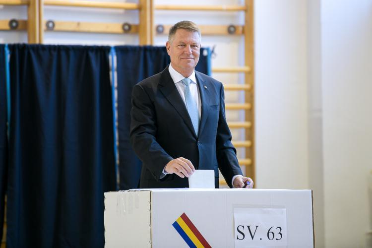 Klaus Iohannis a câștigat categoric alegerile la Florești. Dăncilă, UMILITĂ