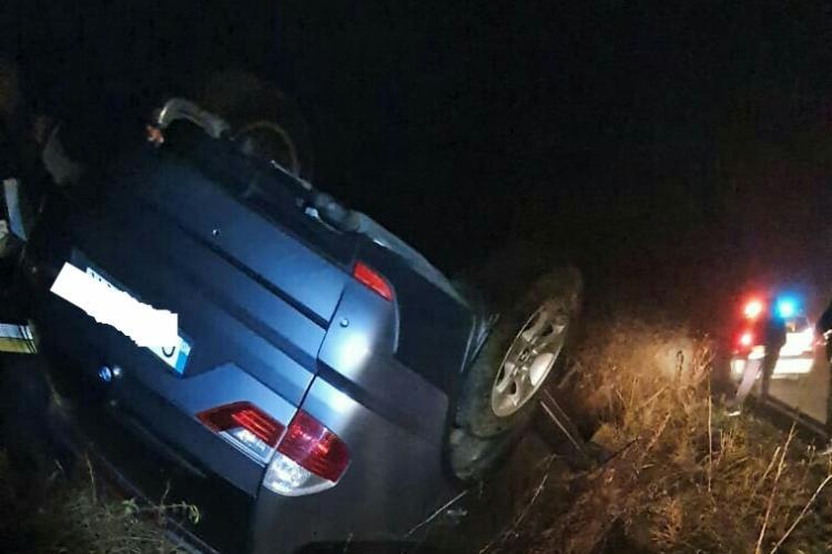 Accident între localitățile Iara și Băișoara - FOTO