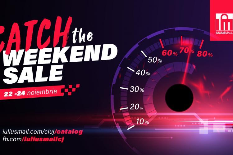 Prinde al doilea weekend de reduceri de până la 80%, la Iulius Mall Cluj!
