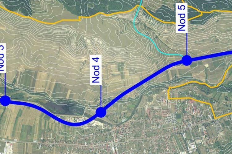 Pe centura Gilău - Florești - Cluj-Napoca - Aeroport - Apahida s-ar putea lucra din 2021. Floreștiul are 3 NODURI de trafic
