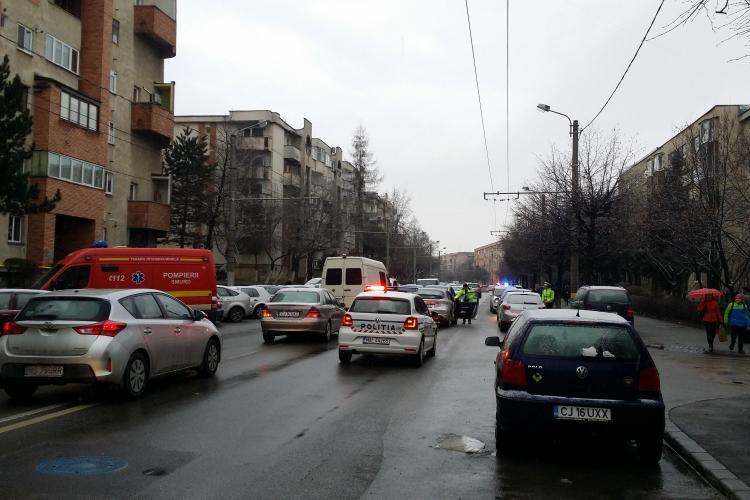 Taximetriștii pot folosi banda dedicată de transport din Gheorgheni, dar numai cu condiții