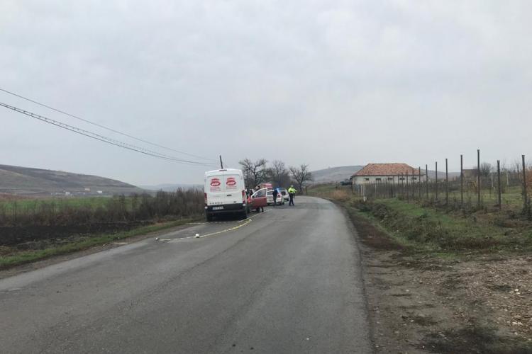 Accident cu multiple victime pe un drum din Cluj. Toți erau pasageri într-un taxi