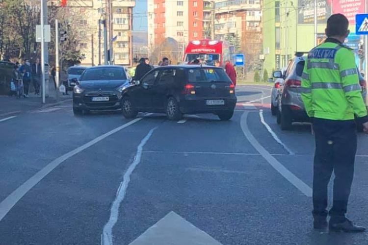Cetățean francez lovit pe strada Câmpului, pe trecerea de pietoni
