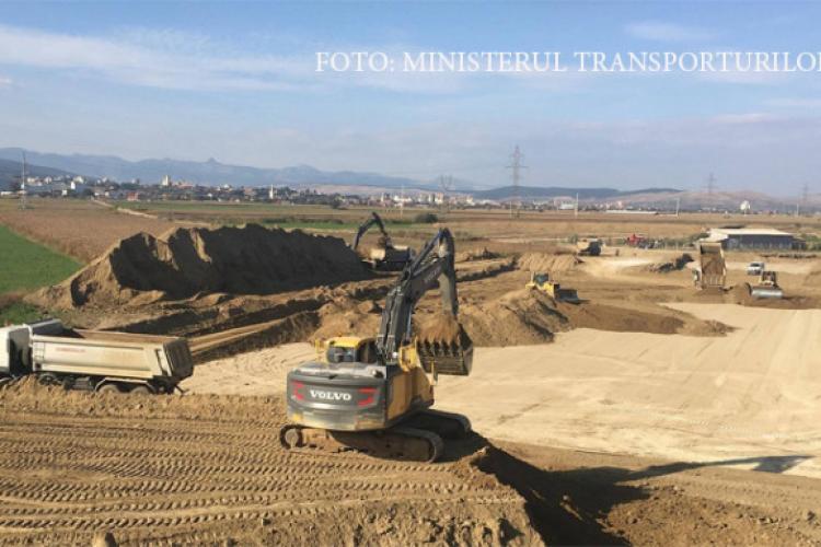 Grevă pe șantierul lotului 2 al Autostrăzii Sebeş-Turda