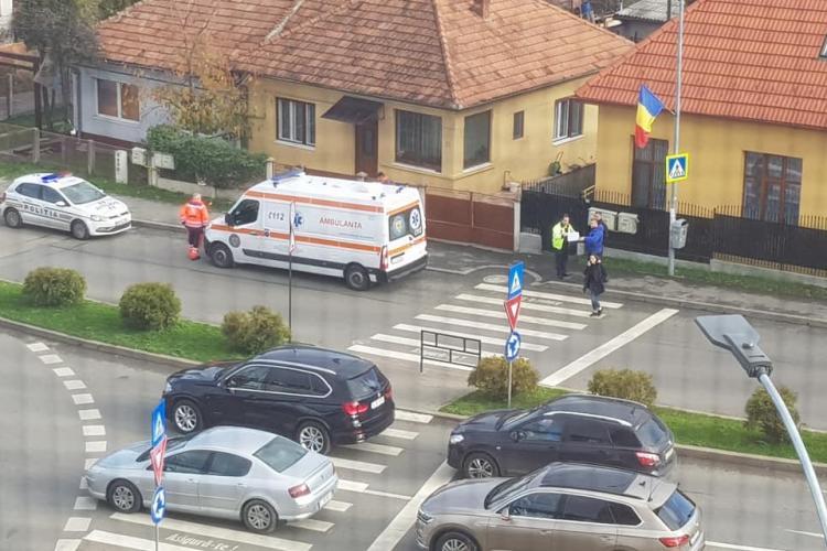 Clujeancă lovită pe trecerea de pietoni în Zorilor. Vinovat, un șofer de aproape 80 de ani