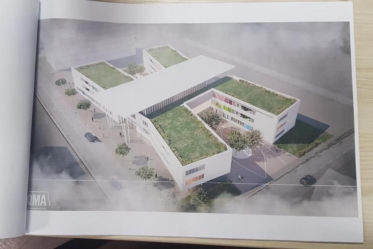 Floreștiul va avea o nouă școală, pe un teren donat de un antreprenor local - FOTO cu planșele