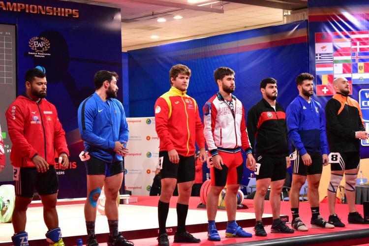 Alte trei medalii de aur pentru Alex Lupișca la haltere