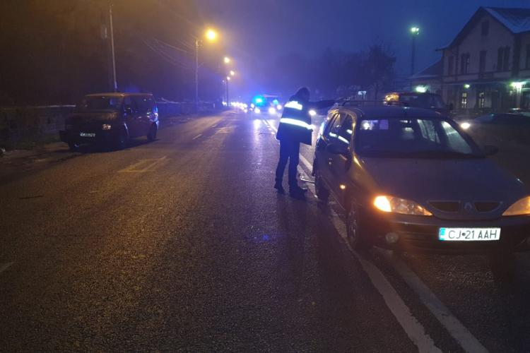 Accident cu victimă la Dej, cauzat de un șofer băut la volan FOTO