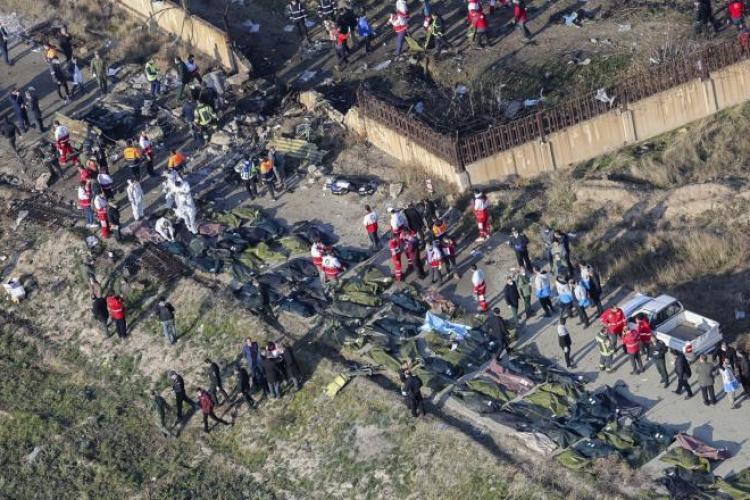 Avion ucrainean prăbușit în Iran. 176 de persoane au murit. Țările de proveniență ale victimelor