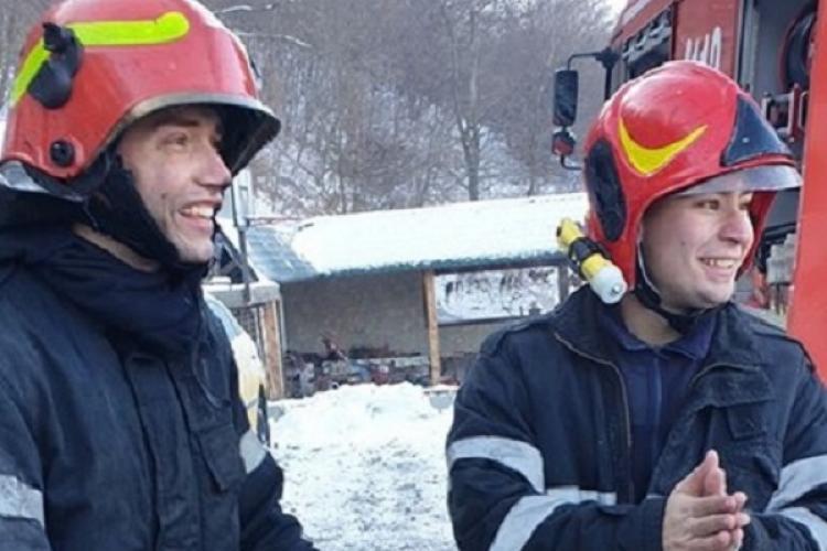 Cine sunt eroii care au luptat cu incendiul din Florești! Să-i felicităm - FOTO