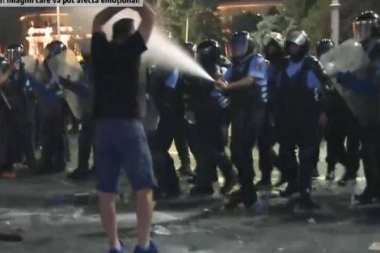 """Convorbirile jandarmilor de la protestele din 10 august au fost desecretizate. """"Cei vinovați vor plăti"""""""